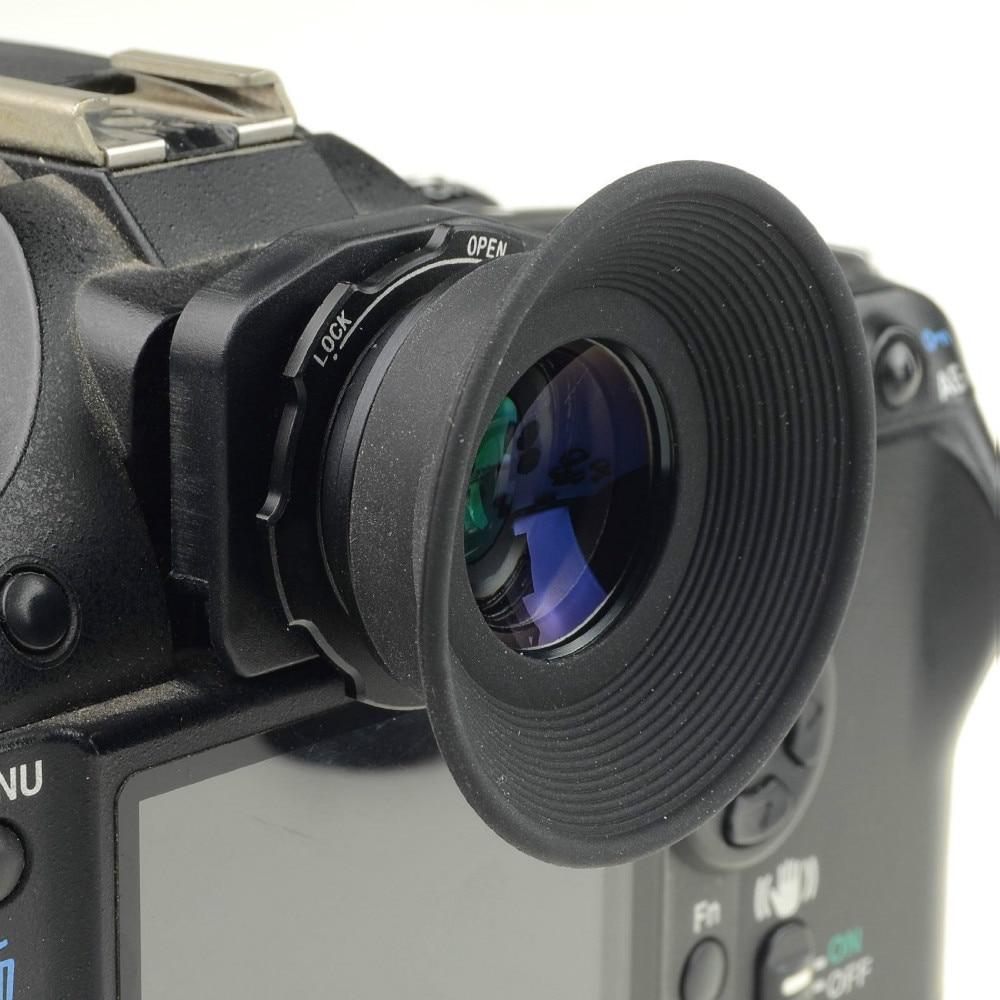 Mcoplus 1.08x-1.60x Zoom visor ocular Eyecup lupa para Nikon D7100 D7000 D5200 D800 D750 D600 D3100 D5000 D300 D90