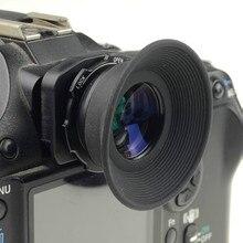 Mcoplus 1.08x 1.60x זום עינית עינית עיינית זכוכית מגדלת עבור ניקון D7100 D7000 D5200 D800 D750 D600 D3100 D5000 D300 d90