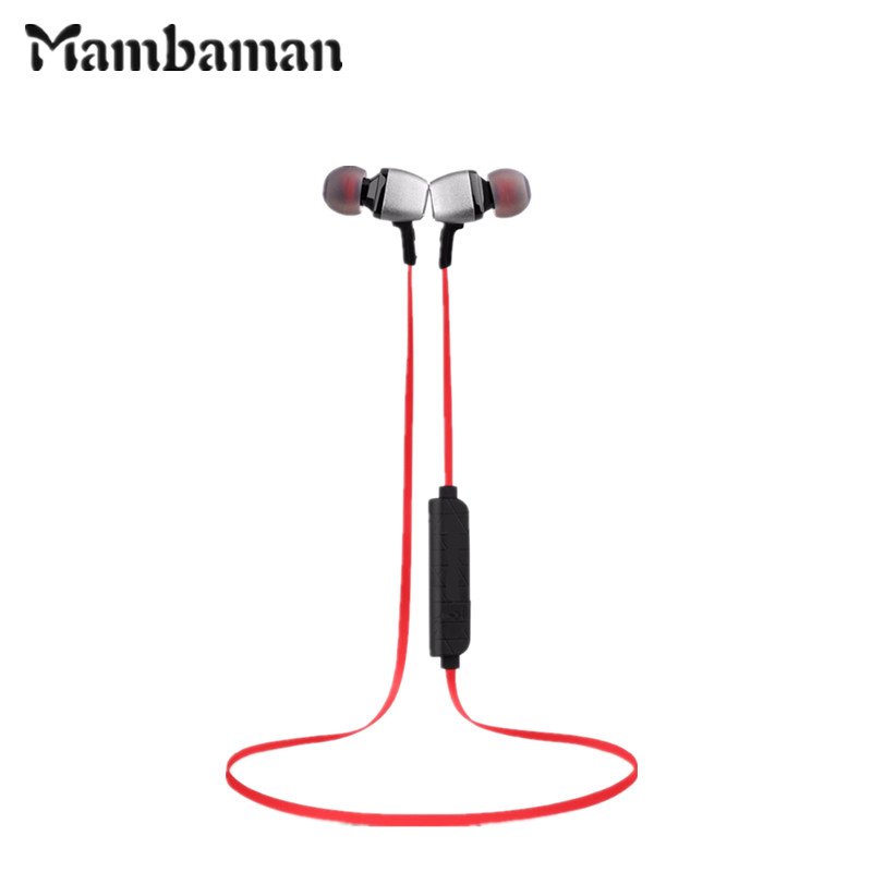 Mambaman M6 Bluetooth Earphones Sports Wireless HIFI Music Stereo Headset Fone De Ouvido with Mic for phone xiaomi Smartphone