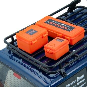 3 Pièces/ensemble En Plastique RC Boîte De Rangement De Voiture Outil De Décoration Pour Traxxas TRX4 Axial SCX10 90046 D90 1/10 RC Accessoires Sur Chenilles