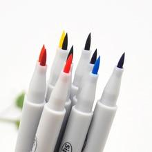 10 colors/lot Premium Painting Soft Brush Pen Set Watercolor Markers Pen Effect Best for Coloring books Manga Comic Calligraphy