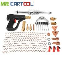 66Pcs/Set Car Dent Repair Puller Tools Hand Spot Guns Mini Welding Machine Auto System Spotter Fix Clamp Hammer
