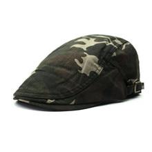 Camouflage military unisex caps beret free size 56-58cm