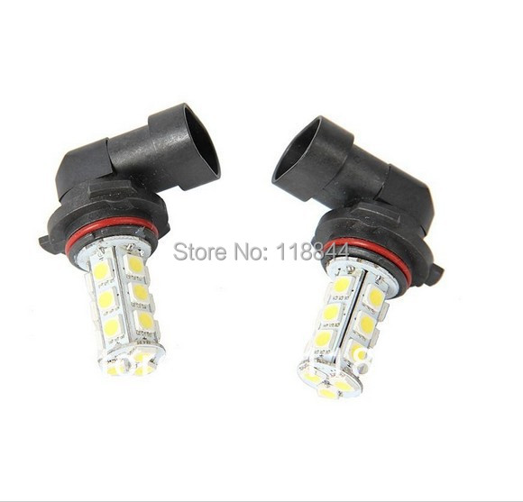 2Pcs HB4 9006 18SMD Fog Light 5050 White Car Side Wedge Tail <font><b>LED</b></font> Light Lamp Bulbs <font><b>Headlight</b></font> DC12V Free Shipping image