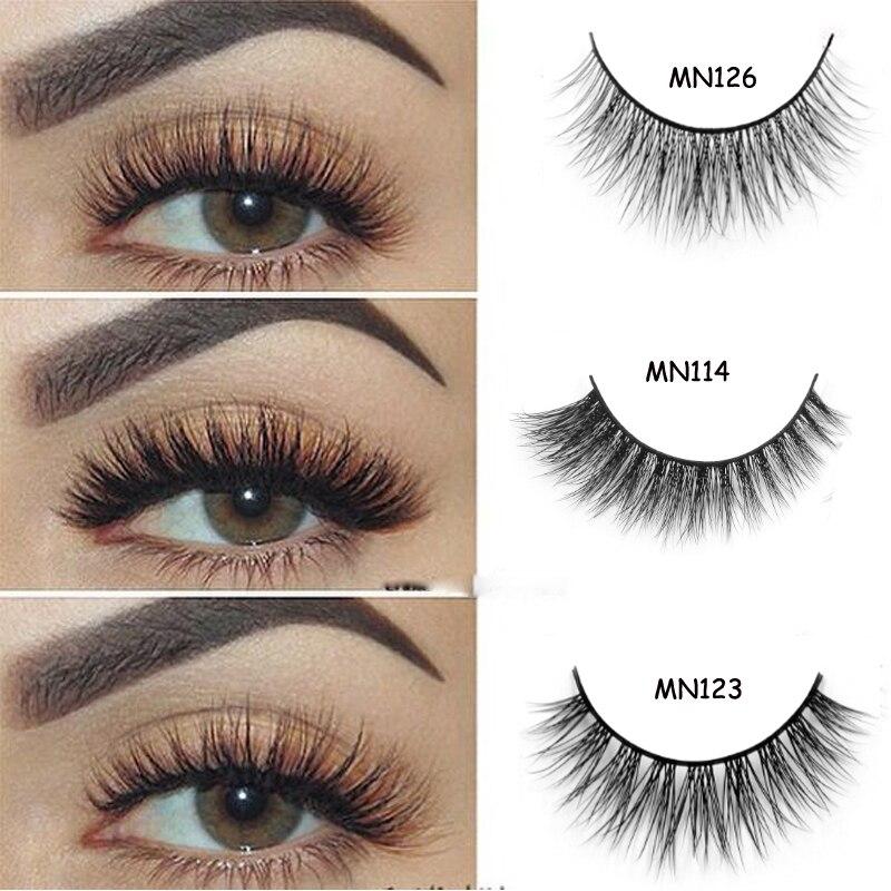 Arison Lashes 40 Style Mink Lashes 3D Mink False Eyelashes Long Lasting Lashes Natural & Lightweight Mink Eyelashes 1 pair