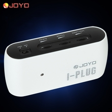Joyo I-plug Portable Electric Guitar Mini Headphone Amp Amplifier Built-in Overdrive Effect for iPhone Samsung Android/Window