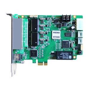 Image 4 - O diodo emissor de luz rgb cor cheia conduziu o controlador video da tela parede novastar msd600 msd300 nova que envia o cartão e mrv336 mrv326 mrv366