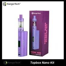 Kangertech Topboxชุดนาโน60วัตต์ปรับปรุงSuboxนาโนชุดเริ่มต้นกับบุหรี่อิเล็กทรอนิกส์Kboxนาโนใช้พอควรSSOCCขดลวด