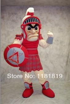 MASCOT Spartan Mascot kostym anpassad fancy kostym anime cosplay kits mascotte fancy dress karneval kostym