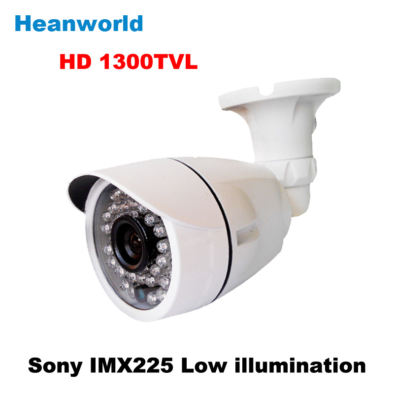 ФОТО 2015 new sony 1300TVL bullet camera outdoor 1080P HD security 36 IR LED CCTV Camera waterproof camera with IR-CUT night vision