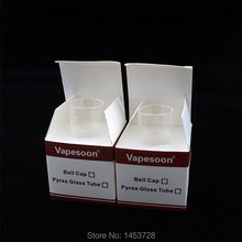 1pcs Authentic Vapesoon Replacement Glass Tube For MELO 2 Tank MELO2 Clear  Glass Tube
