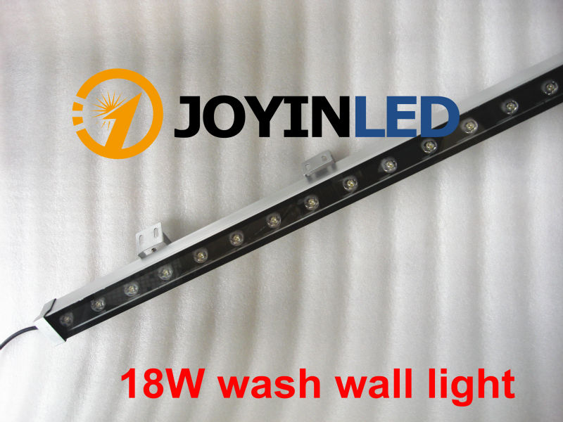 50pcs DHL LED Wall Washer Lights 18W 18 *1W 1000*46*46mm AC85-265V IP65 Waterproof RGB Floodlight Outdoor Lighting free shipping molo rasa