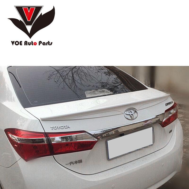 2014 2015 2016 2017 Πλαστικό αδιάβροχο πλαστικό αμάξωμα Corolla ABS για Toyota Corolla Ευρωπαϊκή έκδοση
