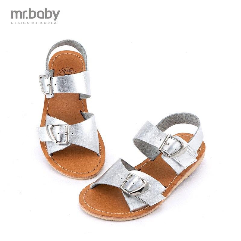Mr.baby child sandals girls princess shoes children shoes flip-flop sandals