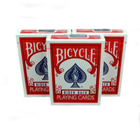 Bicycle Poker Playing Cards Deck Rider Back Free Shipping Card Magic Tricks Toys Flipper Fan