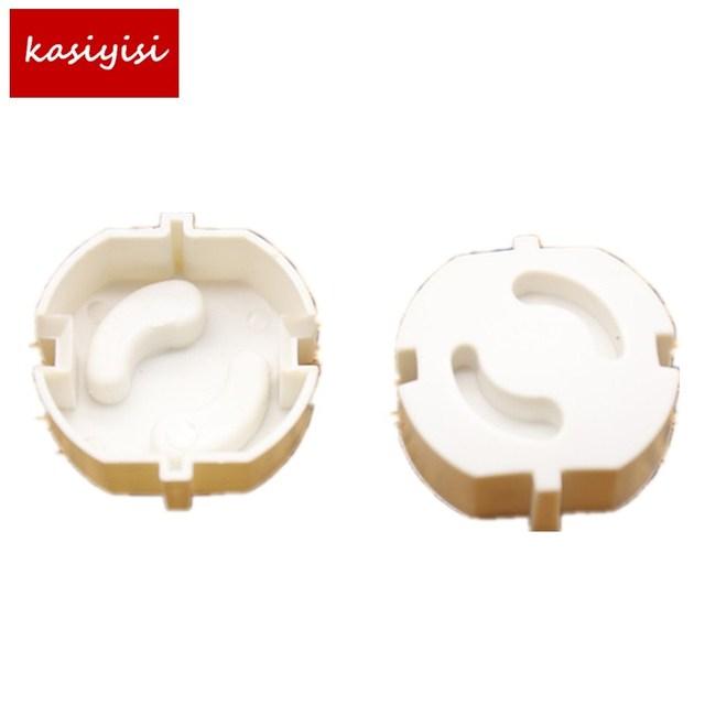10pcs Baby Safety Plug Socket Cover Protective Child Safety Plug Guard 2 Hole