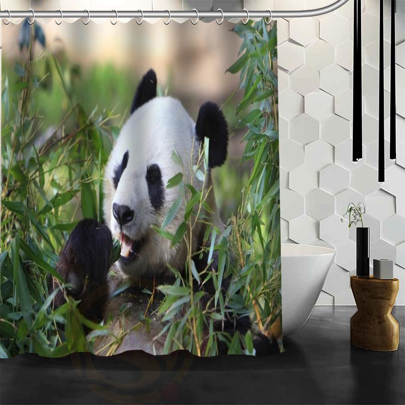 Aliexpress.com : Buy Custom Cute Baby Fantastic Panda Shower Curtain  Waterproof Bathroom Fabric Shower Curtain For Bathroom Free Shipping From  Reliable ...
