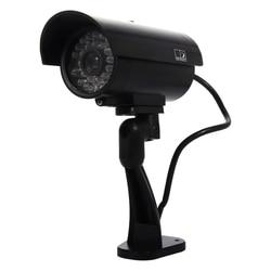 4 Pack Simulated Surveillance Cameras - Surveillance fake Dummy IR LED cameras - Night/Day Vision Look Bullet