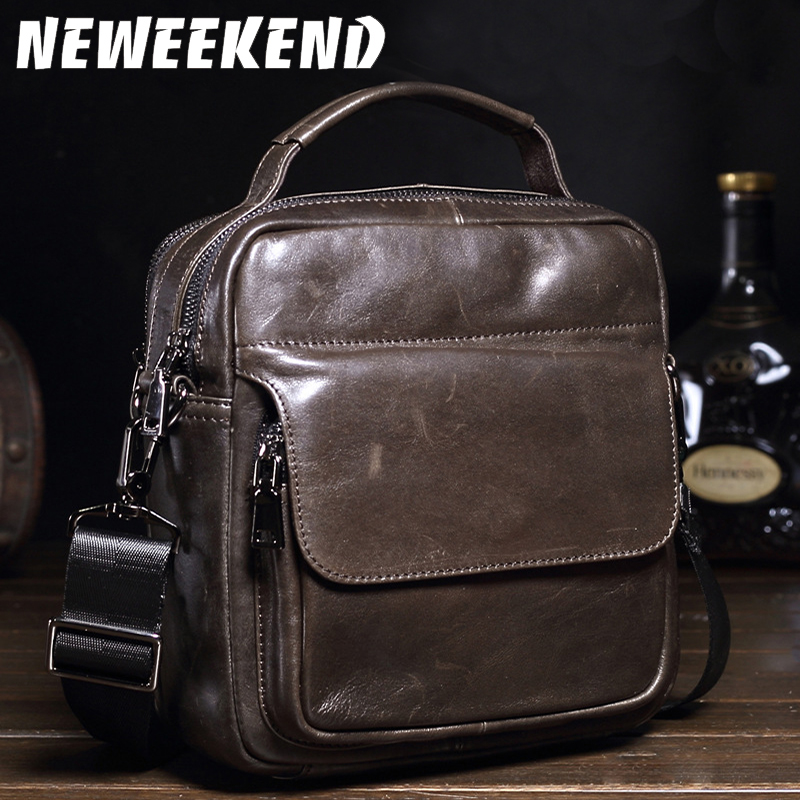 Genuine Leather Men Bags Hot Sale Male Small Messenger Bag Man Fashion Crossbody Shoulder Bag Men's Travel New Bags MS ботинки michael michael kors 40f7tdfb6l 001 black