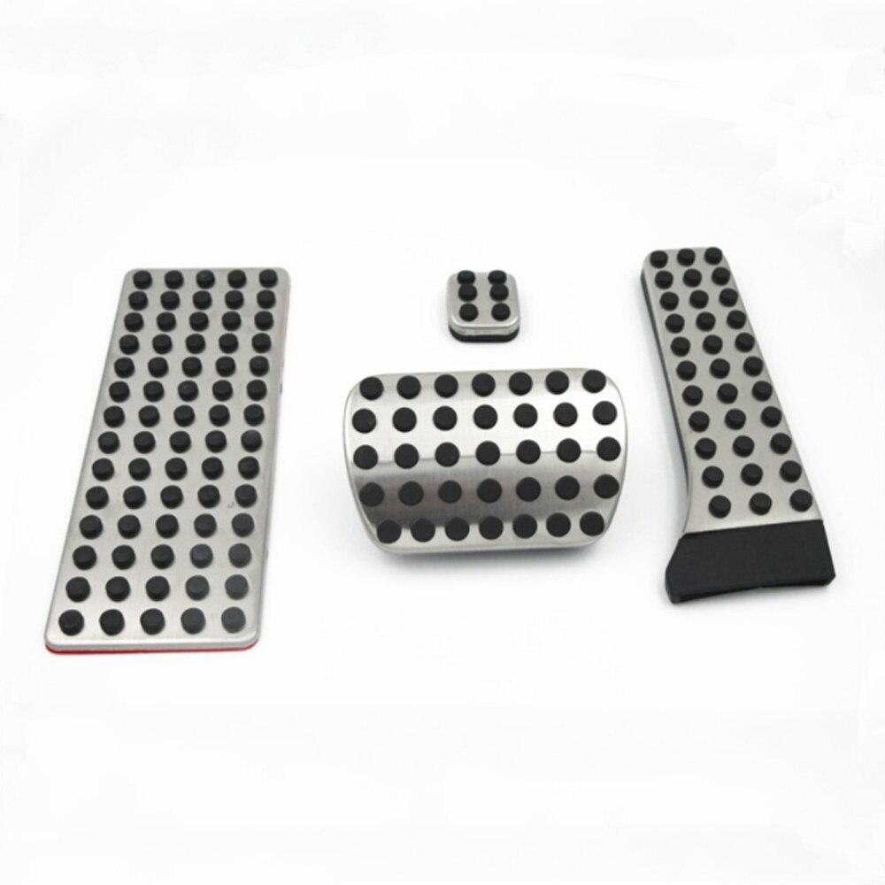 Pedal de Pedal para Coche de aleaci/ón de Aluminio para Mercedes Benz Amg W120 W124 W140 W202 W203 W210 W211 R170 R171 KKmoon