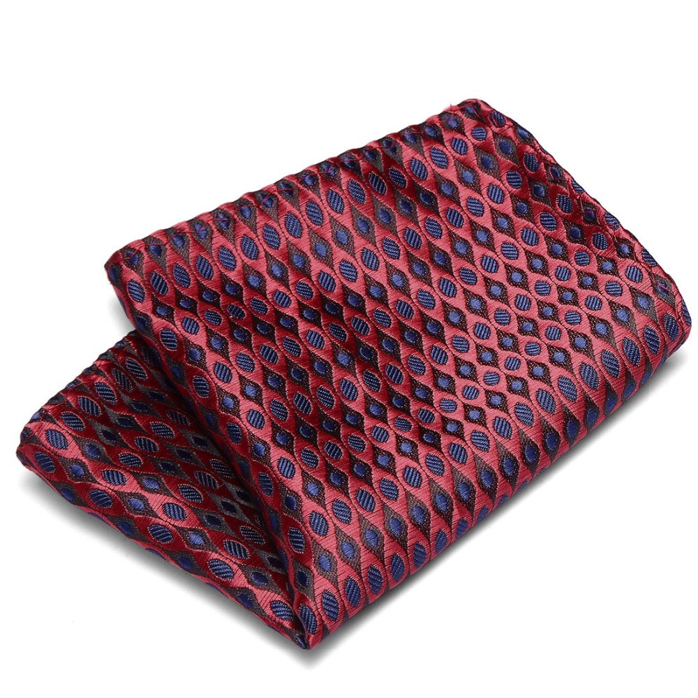 Wedding Pockets Square Polyester Men 39 s Suits Woven Floral Pocket Square Hankies Chest Towel Formal Striped Handkerchiefs Hanky in Men 39 s Ties amp Handkerchiefs from Apparel Accessories