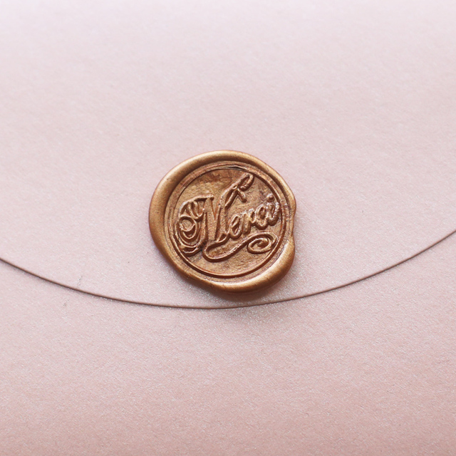 Personalized Merci Wax Seal Stamp wedding invitation sealsparty