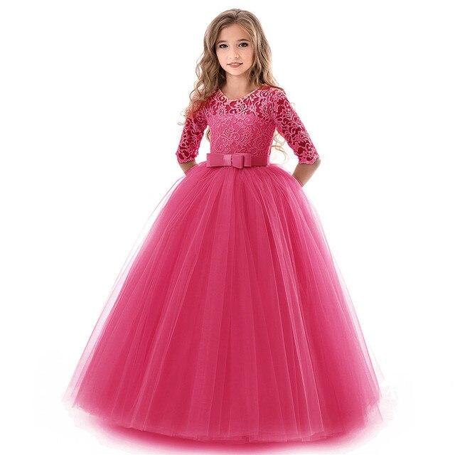 Güzellik Emily O Boyun Yarım Kollu Çiçek Kız Elbisesi 2019 Prenses Balo Dantel Gelinlik Modelleri Çok Renkler Mevcut