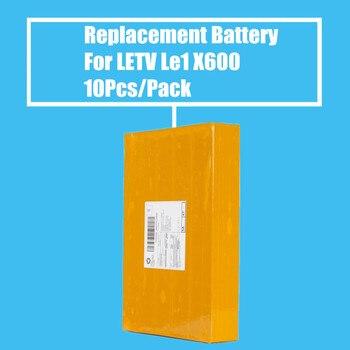 10 unids/pack batería de repuesto 3000 mah para LETV LE1 X600 de alta calidad