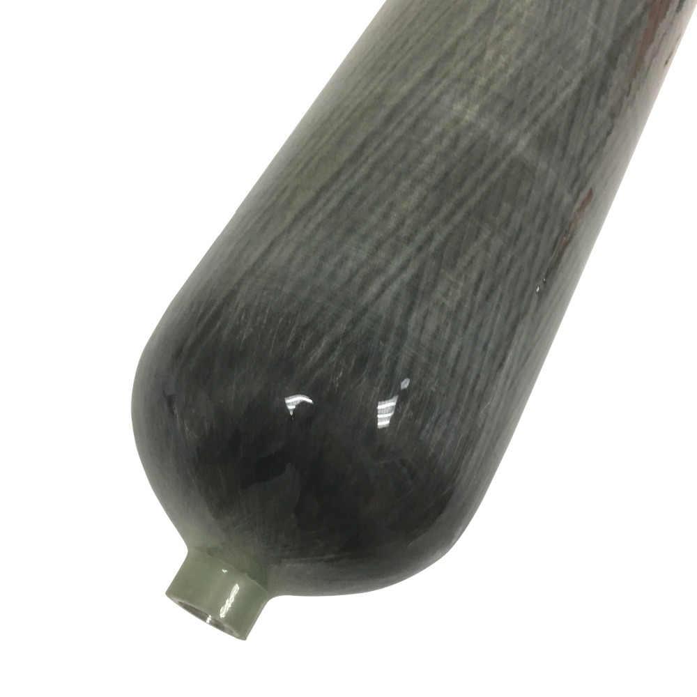 AC168 co2 paintalling 6.8l цилиндры из углеродного волокна pcp пневматическая винтовка Дайвинг 300bar наклейки мишень 4500 psi Танк купить Китай прямой