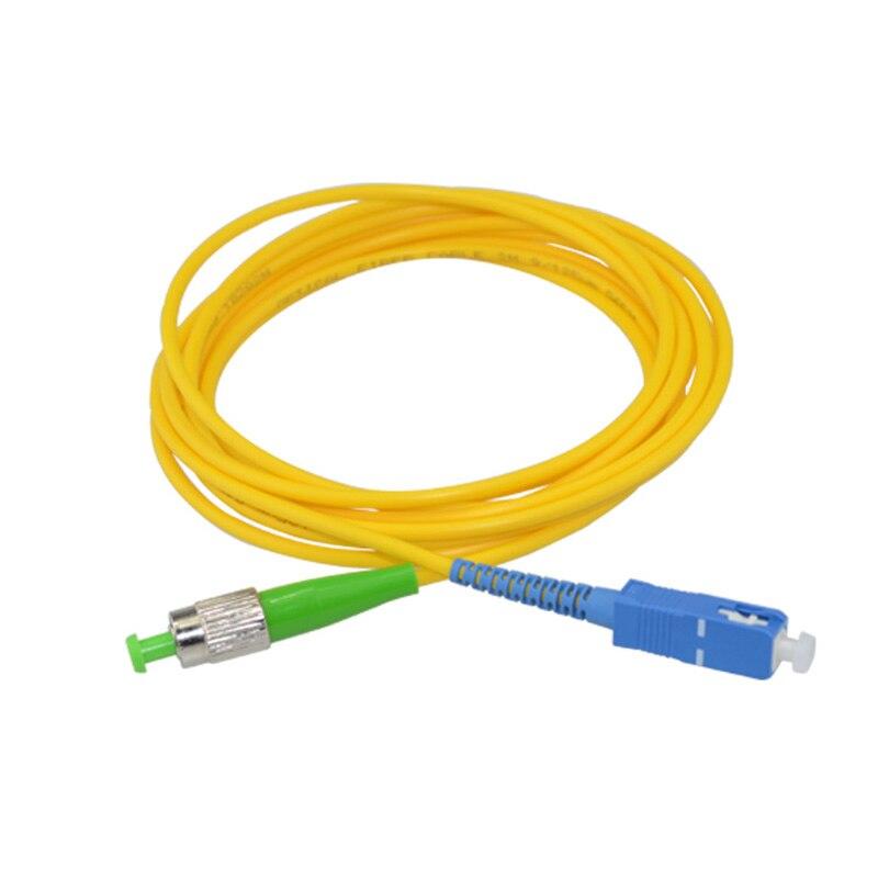 10PCS/bag FC APC-SC UPC 3M Singlemode Simplex fiber optic patch cord FC-SC 3M 2.0mm or 3.0mm FTTH fiber optic jumper Cable