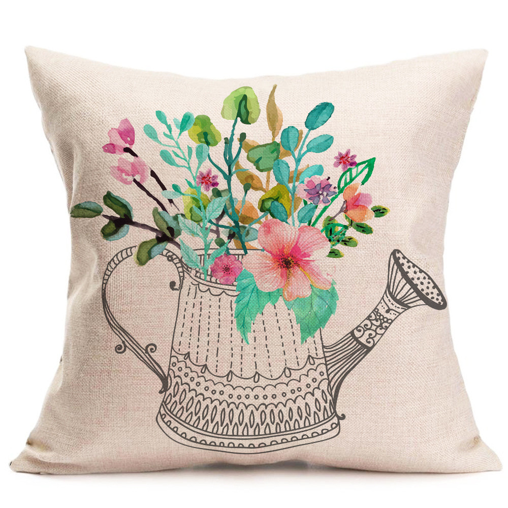 compare prices on washable throw pillow covers online shopping  - fashion home decor cotton linen throw pillow case sofa waist cushion coverremovable and washable c
