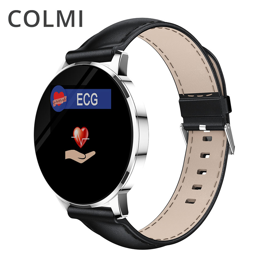 COLMI CQ20 Smart Bracelet Heart Rate Blood Pressure Waterproof ECG PPG Dynamic Sports Fitness Wristband Drop