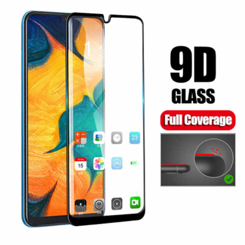 9D Glass Film For Samsung Galaxy A70 A40 A30 A50 Full Glue Protective Glass On The Galaxy J3 J5 J7 Pro J7Max A3 A5 A7 2017