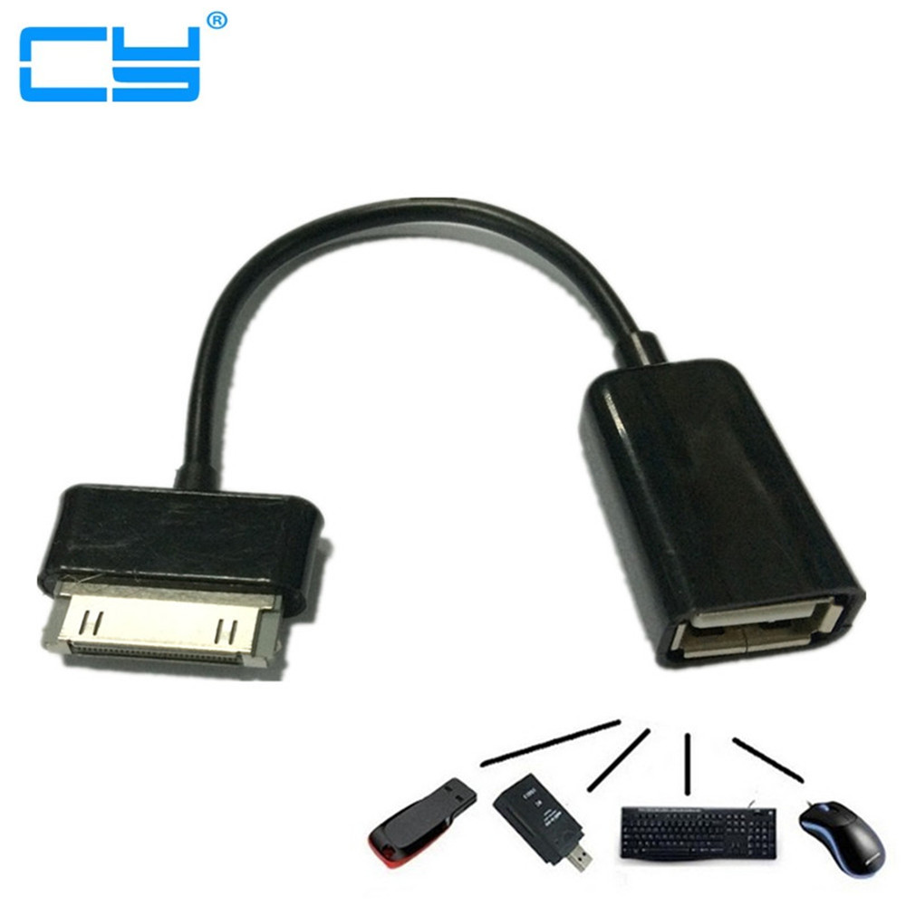 USB OTG Cable Sync Data Adapter For Samsung Galaxy Note 10.1 GT- N8000 N8010 N8020 Tab 2 7 P3100 P3110 Tab2 P5110 P5100 P7300