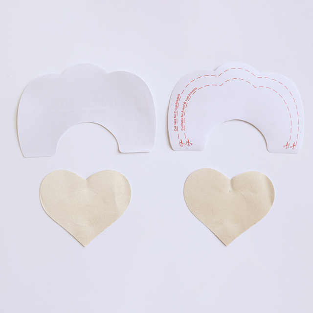 3 Style Invisible Strapless Backless Bra Pad Cleavage Enhance Stick Nipple Cover Disposable Breast Petals Lift 3