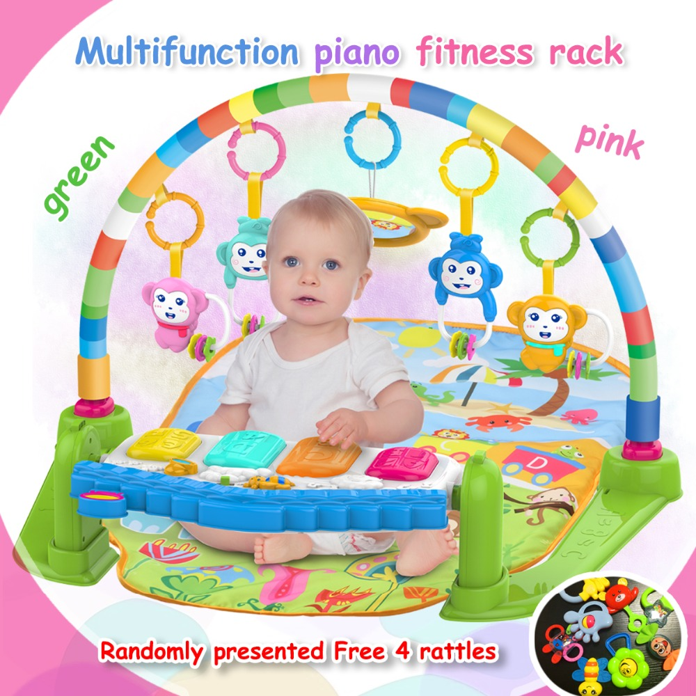 Hotselling Multifunctional Baby Born Fitness Rack Play Mat