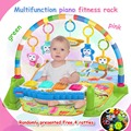 Hotselling multifunctional baby born fitness rack play mat With Music Rattle Infant Activity gym 0-12months Educational Toy