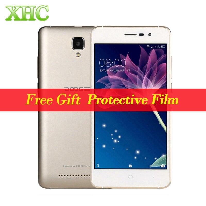 DOOGEE X10 ROM 8 GB 5.0 polegada 3360 mAh Smartphone Android 6.0 MTK6570 Dual Core 1.3 GHz WCDMA 3G WiFi OTA GPS Dual SIM Celular telefone