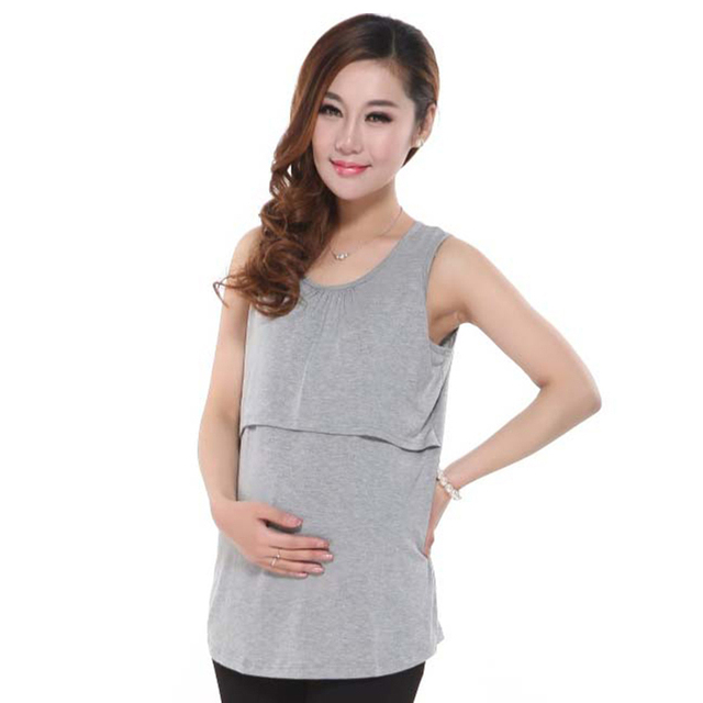72d2bef3b2426 Modal maternity underwaist breastfeeding sundress at home dress clothes for pregnant  women maternity clothing nursing tank top. Previous; Next