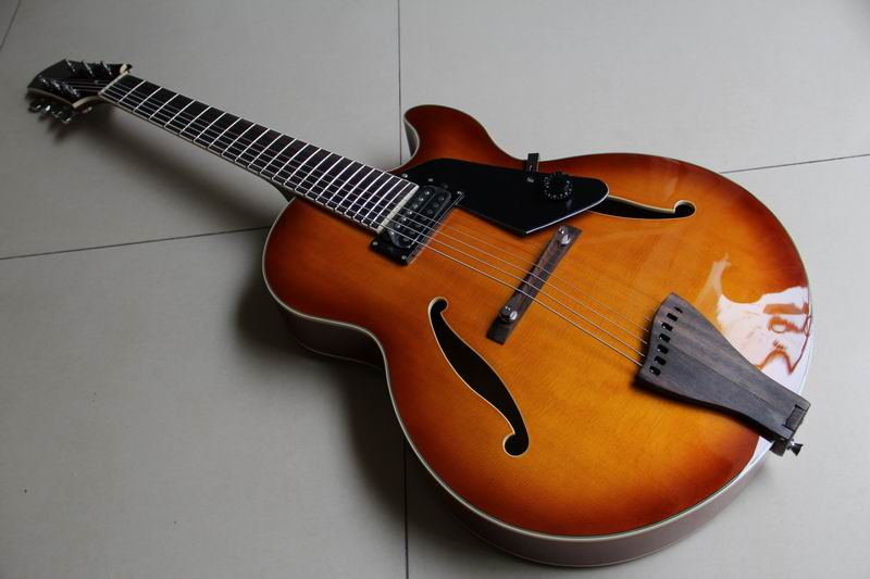New Arrival Custom 7 String electric guitar top quality in sunburst 111001