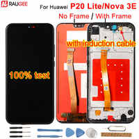 """For Huawei P20 Lite LCD Display+Touch Screen Digitizer Replacement Assembly For Huawei P 20 Lite/ Nova 3E ANE-LX1 ANE-LX3 5.84"""""""