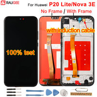 For Huawei P20 Lite LCD Display+Touch Screen Digitizer Replacement Assembly For Huawei P 20 Lite/ Nova 3E ANE LX1 ANE LX3 5.84