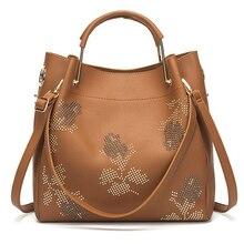 купить 3PCS/Set Brand Designer women messenger bags composite handbags soft PU leather female shoulder bags Retro Ladies crossbody bag по цене 2138.91 рублей