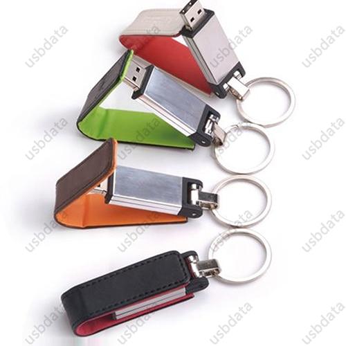 KeyChain Կաշի 8 GB 32 GB 64 GB 4 Գույն Pendrive Memory Stick - Արտաքին պահեստավորման սարքեր - Լուսանկար 6
