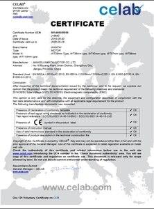 Image 5 - USA Free! Wantai 4 Axis Nema34 Stepper Motor WT86STH118 6004A 1232oz in+Driver DQ860MA 80V 7.8A 256Micro Plastic Metal Machine