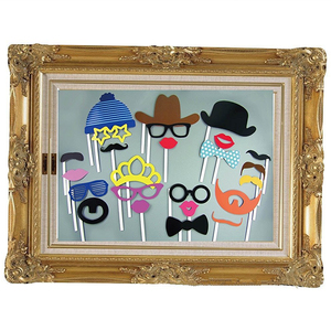 Photo Booth Large Picture Frame & 24pcs