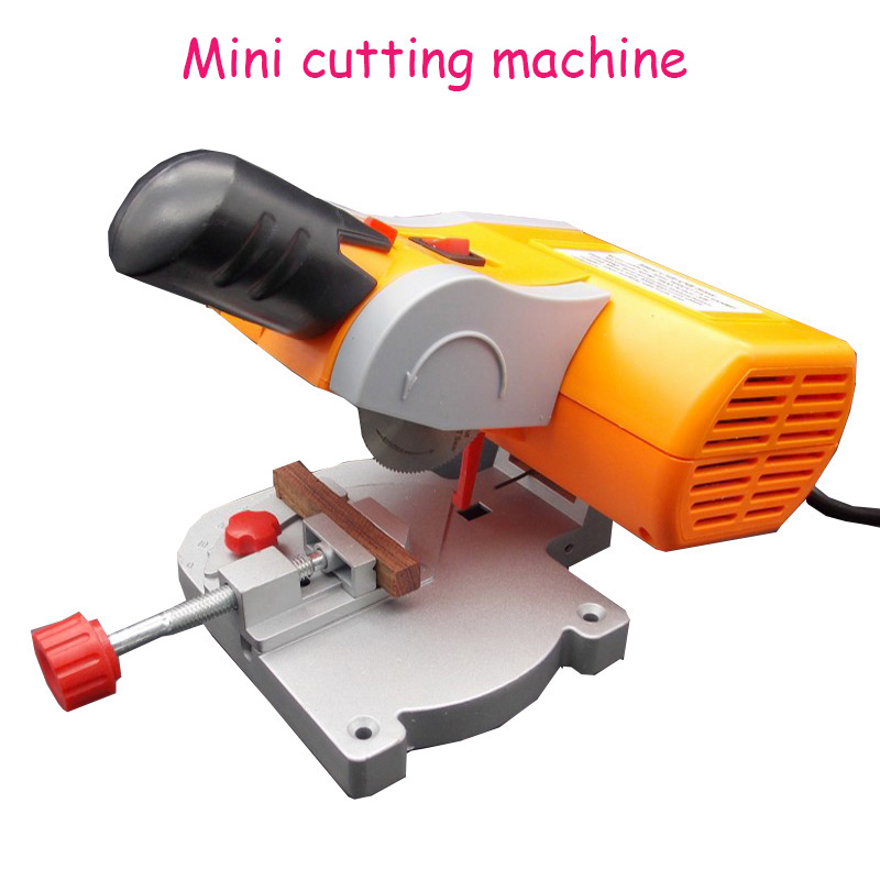 Mini cutting machine mini woodworking saw magic model mold saw aluminum machine tool saw with English manual low noise terminal crimping machine 1 5t with vertical mold or horizontal mold or single grain mold