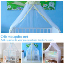 Baby Infant Nursery Mosquito Bedding Crib Canopy Net Netting Hanging Babe Dome Summer