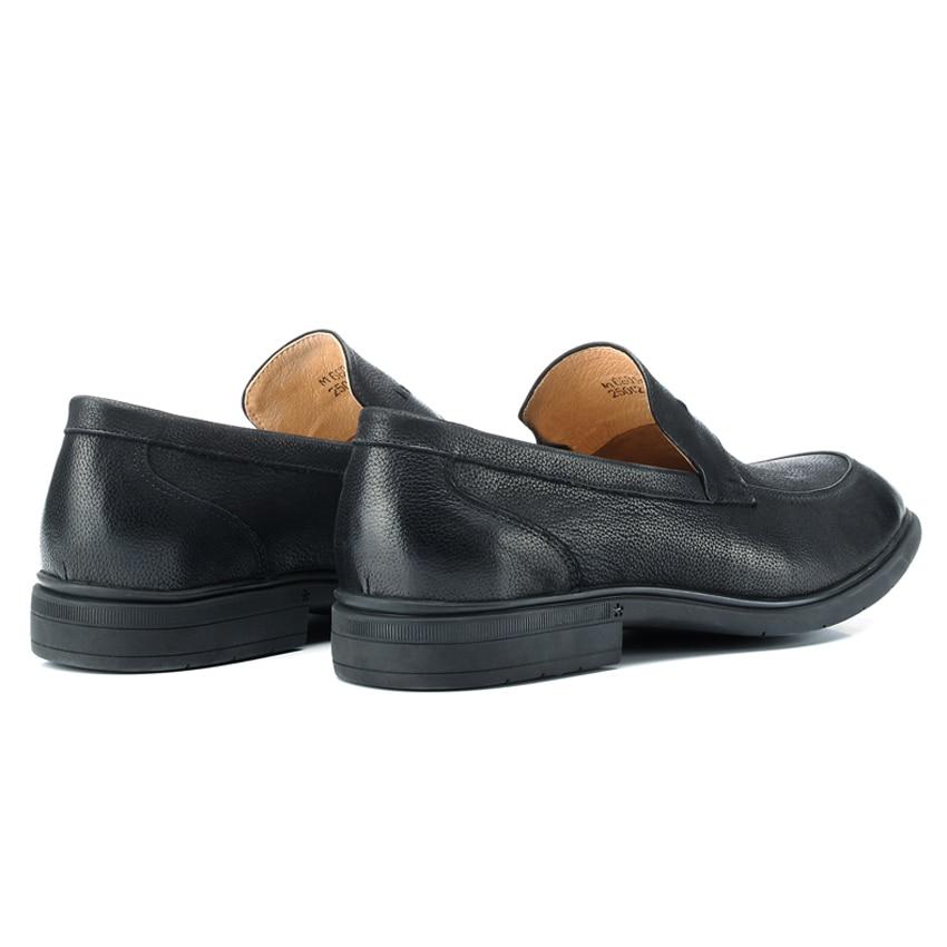 Mlt66 Toe Preto Mocassim De Couro Do Homens Nova Sobre Handmade Redonda Deslizamento Chegada Homem Casuais Condução Confortáveis Sapatos Genuínos Vintage Mocassins pqHqf
