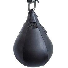 Боксерская груша Форма PU скоростной мяч поворотный удар мешок пробивая упражнения скорость мяч скорость мешок удар фитнес тренировочный мяч